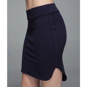 LIKE NEW Lululemon City Skirt in Naval Blue